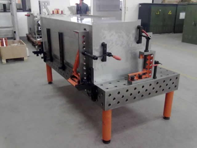 三维组合焊接平台