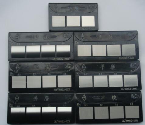 30块六组表面粗糙度比较样块笔记本式