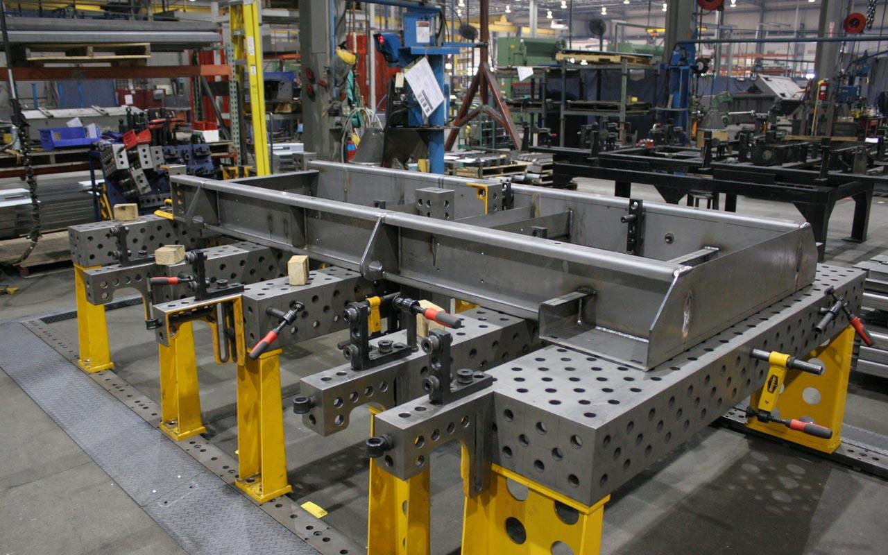 三维柔性工装焊接平台